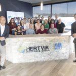 Hertvik Team Photo Welcome